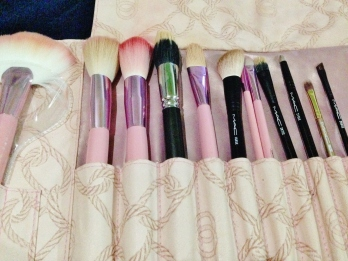 Some of my Makeup Brushes
